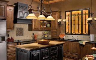 Светильники для кухни — подбор, советы и декорирование