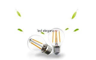 Филаментные лампы — преимущества и общие сведения