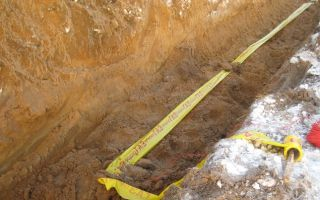 Сигнальная лента для газопровода