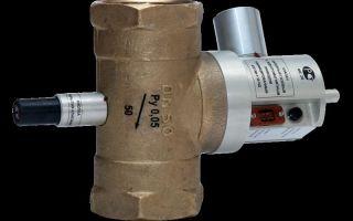 Газовый запорный клапан