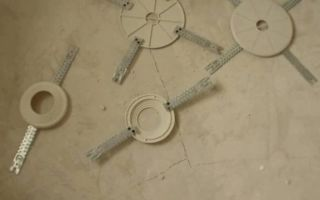 Закладная под люстру в натяжном потолке: подробный инструктаж по монтажу платформ под люстры