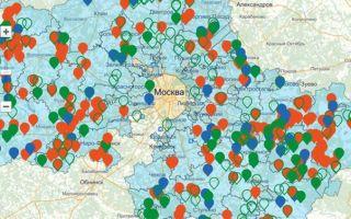 Газификация московской области до 2020 года схема