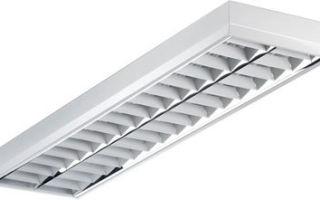 Люминесцентные лампы и светильники — выбор и подключение