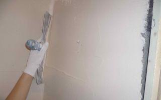 Шпаклевка стен из гипсокартона: под обои, под покраску, своими руками, советы, видео