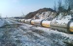 Балластировка газопровода