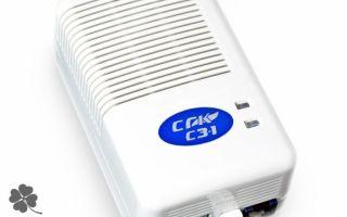 Сигнализатор загазованности природным газом