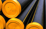 Полиэтиленовые трубы для газопроводов