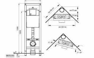 Угловая инсталляция для унитаза: как выбрать, установка и правила обустройства