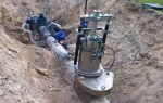 Отключающие устройства на газопроводах
