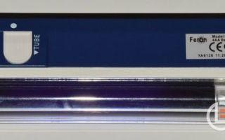 Ультрафиолетовая лампа: конструкция, классификация и основные параметры