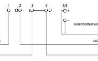 Схема подключения и характеристики счетчика электроэнергии меркурий 201