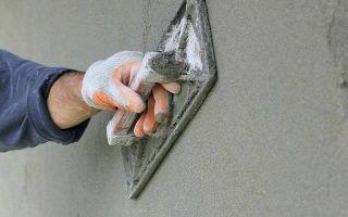 Раствор для штукатурки стен: как сделать своими руками, правильные пропорции, состав, особенности, подготовка стен, количество слоев