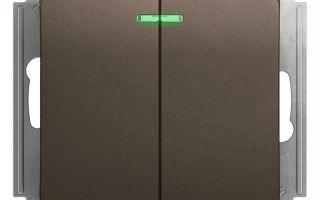 Как подключить двухклавишный выключатель — монтаж и установка