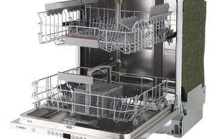 ТОП встраиваемых посудомоечных машин bosch (Бош) 60 см