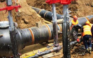 Монтаж наружного газопровода