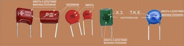 Маркировка и основные характеристики конденсатора 104