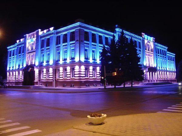 Архитектурное освещение фасадов - способы и особенности