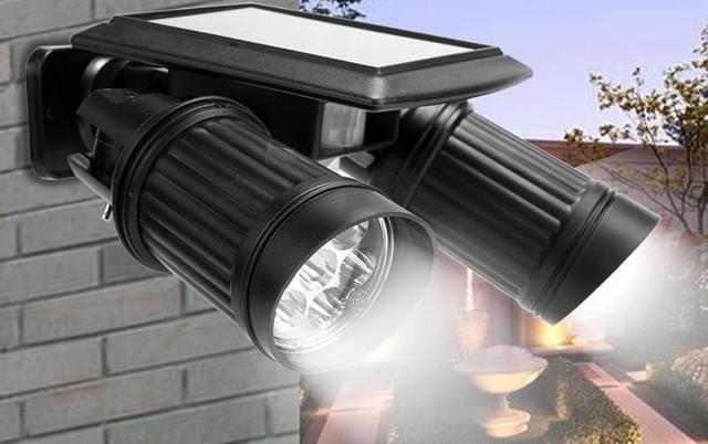 Светильник с датчиком движения - преимущества и классификация