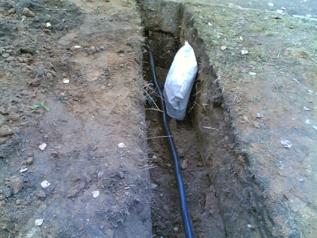 Улица: способы прокладки кабелей и проводов, монтаж сетей
