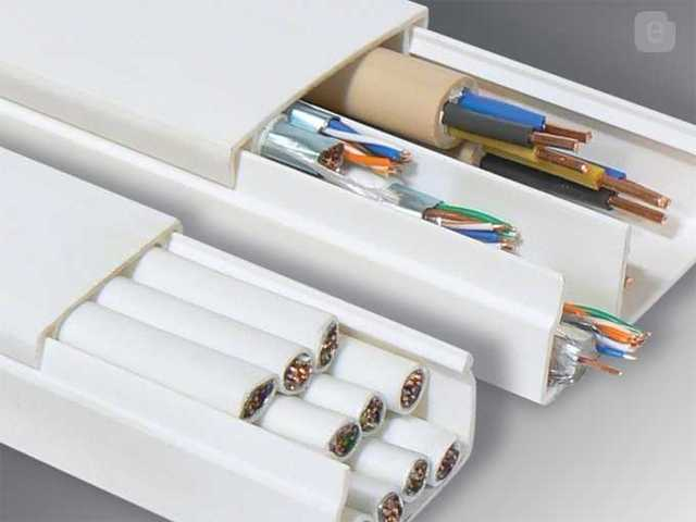 Размеры и разновидности кабельных каналов для электропроводки