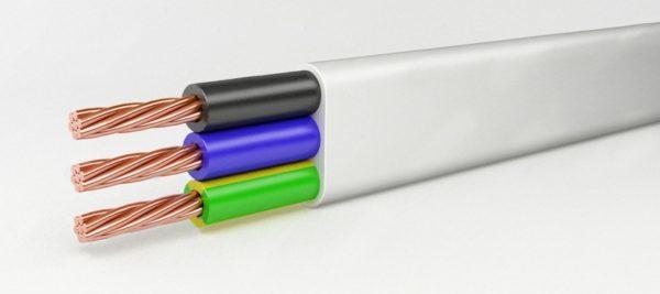 Технические характеристики и расшифровка кабеля ШВВП: область применения