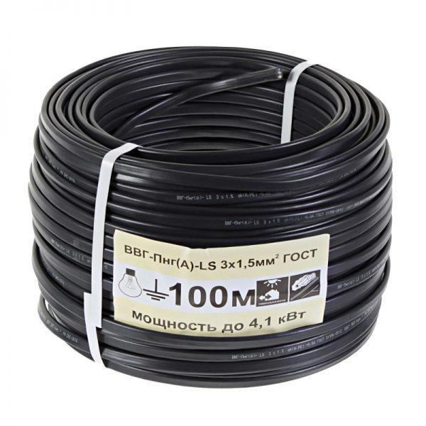 Расшифровка маркировки, области применения и монтаж кабеля ВВГ ПНГ (А)