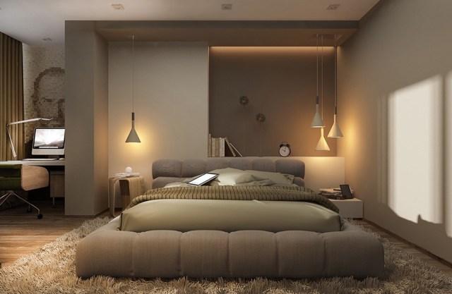 Освещение в спальне - виды, советы и нюансы выбора