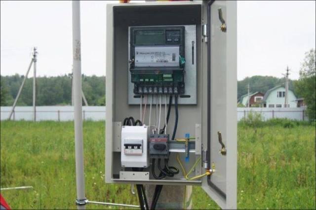 Самостоятельная установка электросчетчика