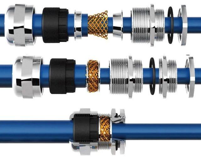 Кабельные гермовводы: назначение, размеры и классификация