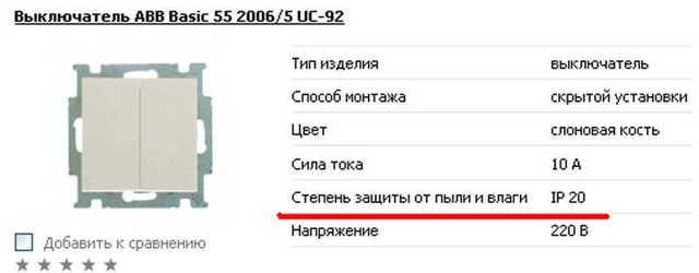 Степень (класс) защиты электрооборудования ip-68: что значат буквы и цифры