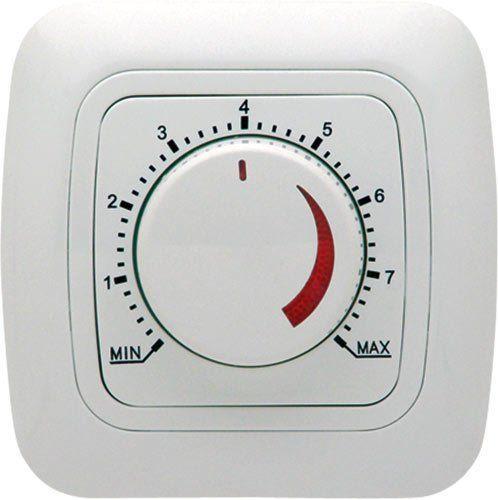 Подключение выключателя с реостатом (плавной регулировкой яркости света)