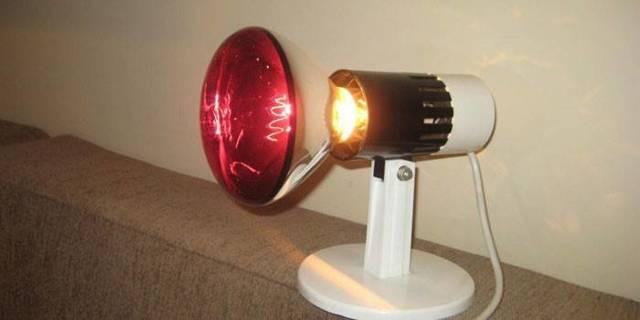 Инфракрасная лампа: область применения и преимущества