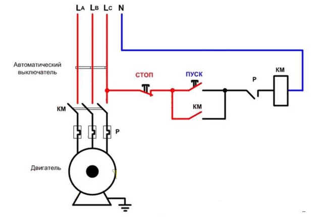 Двигатель реверса в картинках