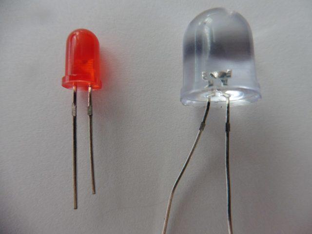 Расчёт резистора для светодиода и подключение