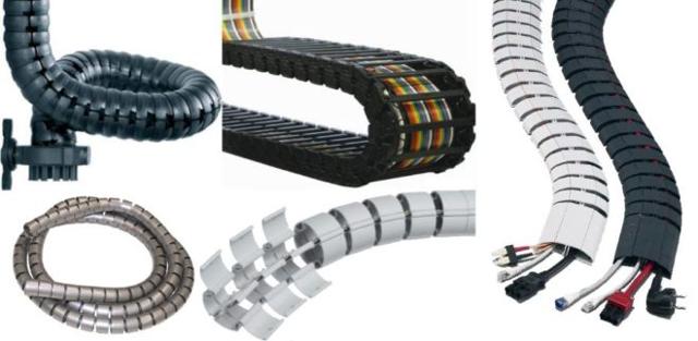 Гибкие кабель-каналы для проводки: назначение и правила монтажа