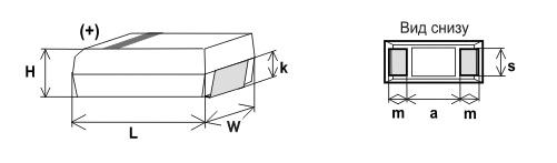Танталовые smd-конденсаторы: определение мощности по цветовой маркировке