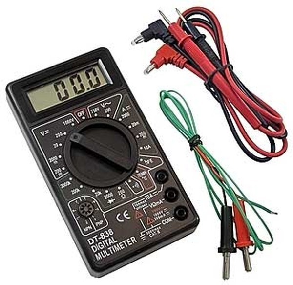 Проверка емкости и заряда батареек прибором-тестером — мультиметром