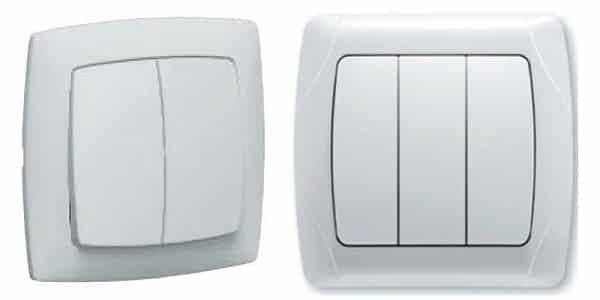 Подключение выключателя: однополюсный, двухполюсный