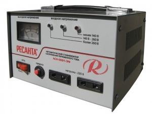 Технические характеристики и разновидности стабилизаторов напряжения Ресанта