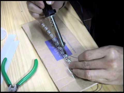 Как паять светодиодную ленту - подготовка и способы