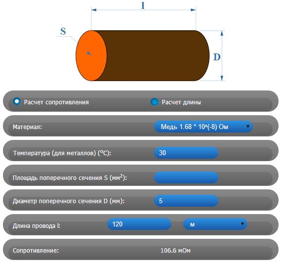 Измерение силы тока, расчет мощности и напряжения с помощью онлайн калькулятора