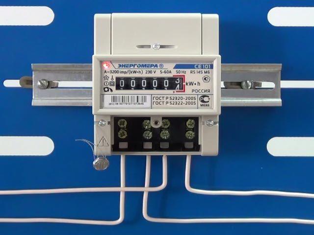 Трехфазный счетчик электроэнергии: выбор, монтаж, подключение