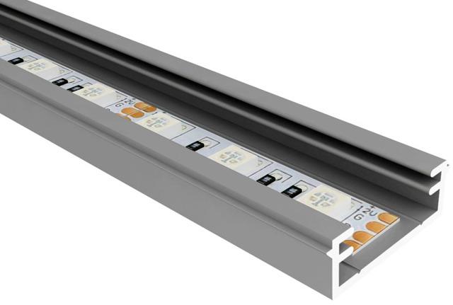 Светодиодная подсветка: виды профилей для светодиодных лент