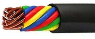 Технические характеристики и расшифровка КВВГНГ ls-кабелей