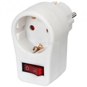 Установка многоклавишного выключателя с розеткой