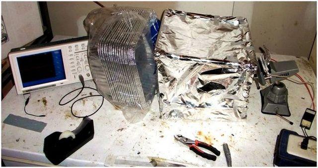 Изготовление клетки (решетки) Фарадея своими руками в домашних условиях