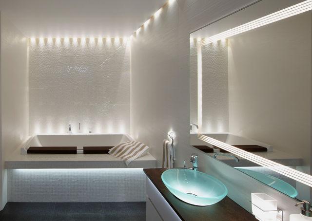 Освещение в туалете - классификация и монтаж