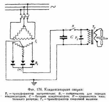 Самодельная сварка на конденсаторах: схема и описание аппарата