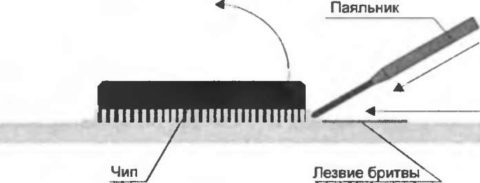 Выпаиваем микросхемы из плат: распайка деталей паяльником