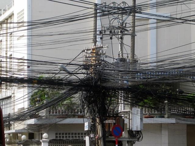 Самонесущий изолированный силовой электрокабель